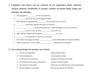 learn spanish exercises