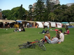 Recoleta Fair Buenos Aires Park